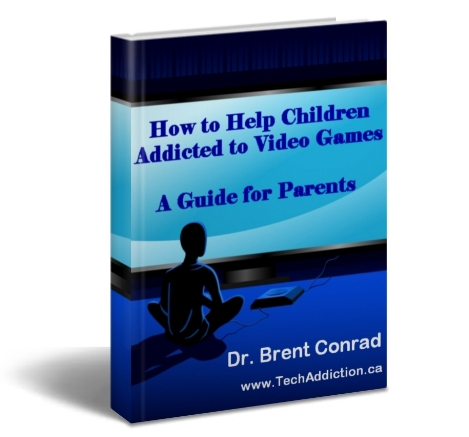 addiction of computer games - children