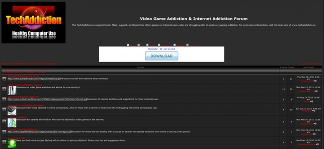 Internet and Video Game Addiction Support