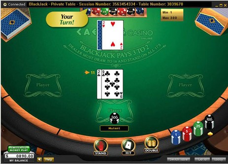 Starting stack in poker